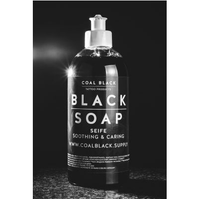 COAL BLACK - BLACK SOAP ZÖLD SZAPPAN
